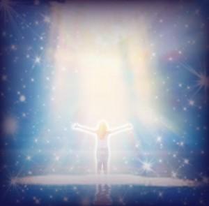Bathed in Spiritual Light