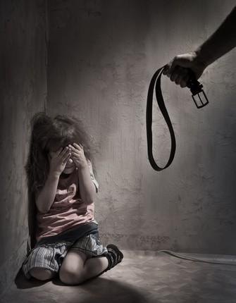 abused child